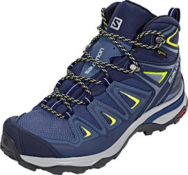 Salomon X Ultra 3 GTX Mid Hiking Shoes Women Crown Blue/Evening Blue/Sunny